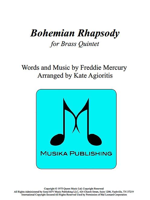 Bohemian Rhapsody (Queen) - Brass Quintet