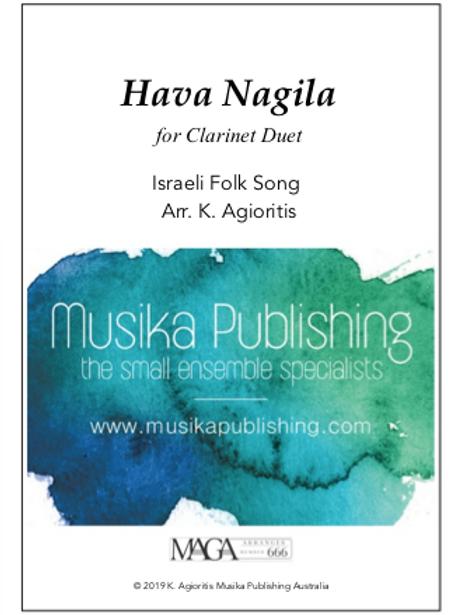 Hava Nagila - Clarinet Duet