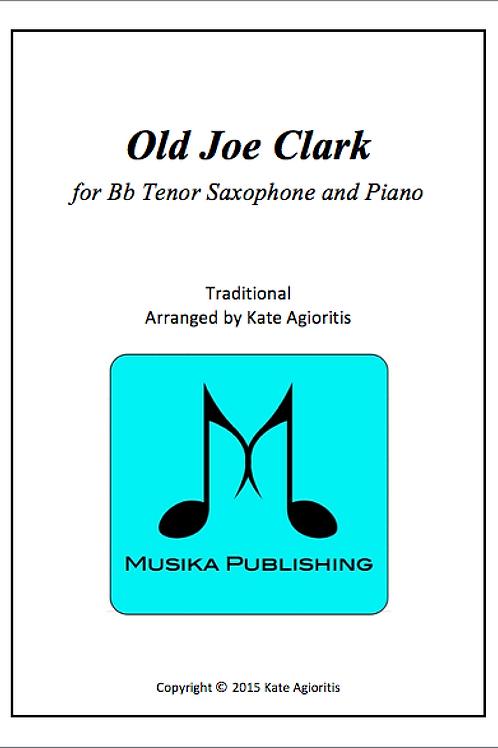 Old Joe Clark - Tenor Saxophone and Piano