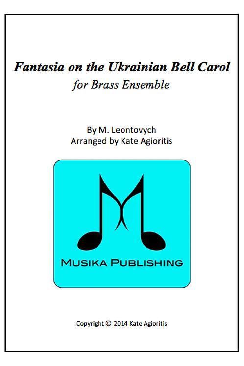 Fantasia on the Ukrainian Bell Carol - Brass Quintet