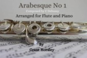 Arabesque No. 1 Debussy - Flute and Piano