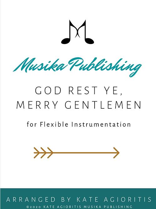 God Rest Ye Merry Gentlemen - Flexible Instrumentation