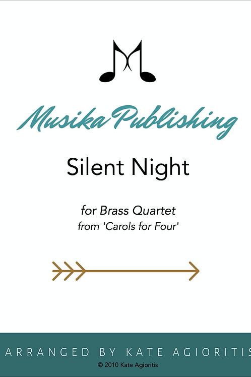 Silent Night - Brass Quartet
