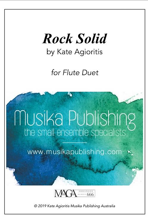 Rock Solid - Flute Duet