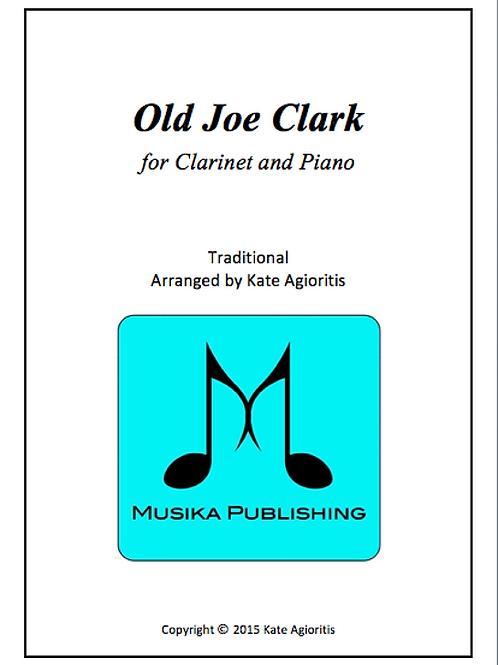 Old Joe Clark - Clarinet and Piano