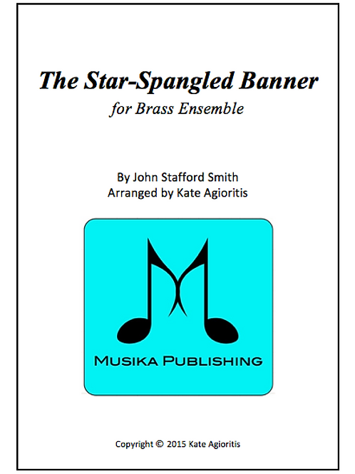 The Star-Spangled Banner - Brass Quintet