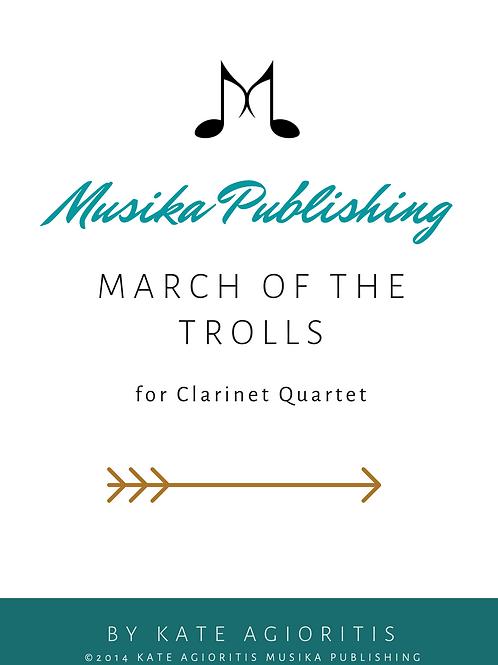March of the Trolls - Clarinet Quartet