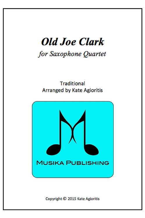 Old Joe Clark - Saxophone Quartet
