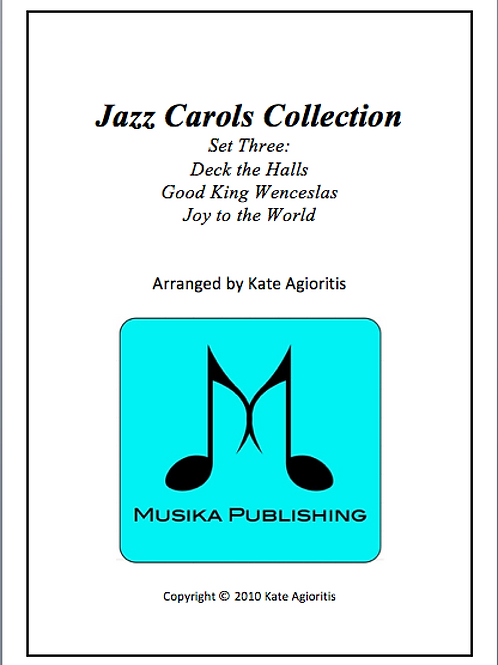 Jazz Carols Collection Set 3 - String Quartet