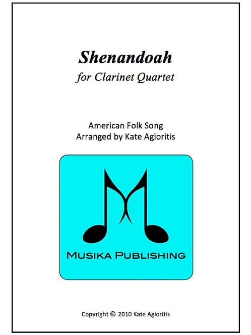 Shenandoah - Clarinet Quartet