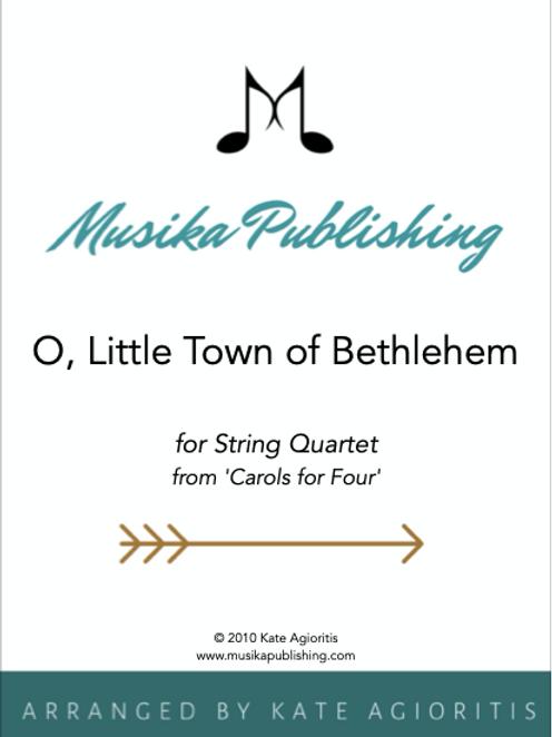 O Little Town of Bethlehem - String Quartet