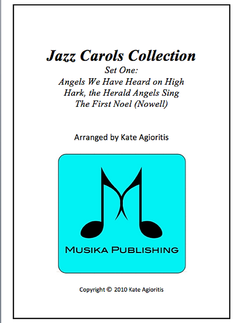 Jazz Carols Collection Set 1 - Clarinet Quartet