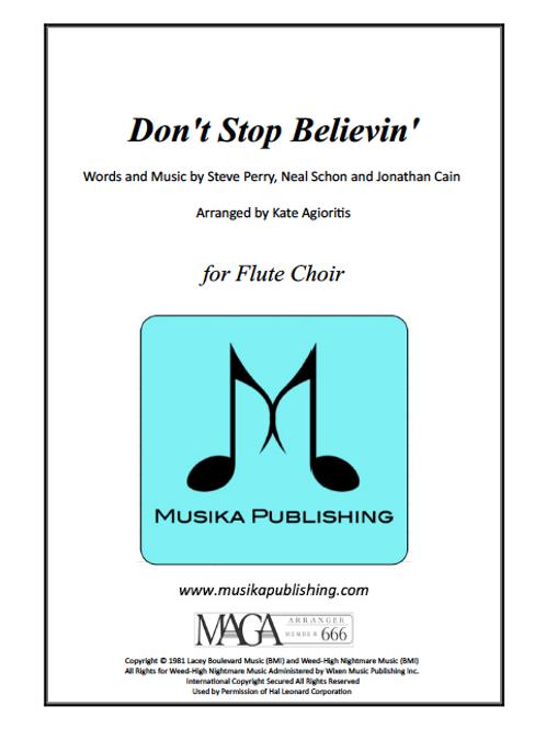 Don't Stop Believin' - Flute Choir