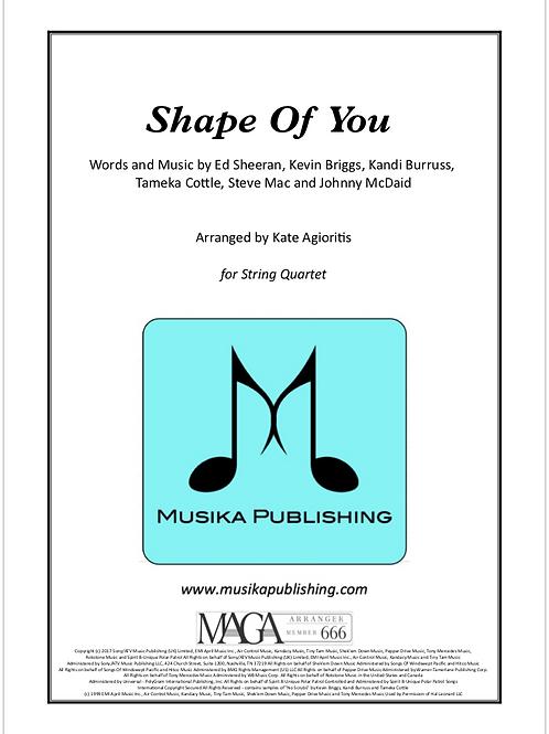 Shape of You - Ed Sheeran - String Quartet