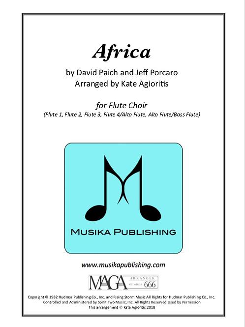 Africa - for Flute Choir