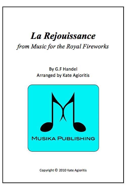 La Rejouissance - Saxophone Quartet