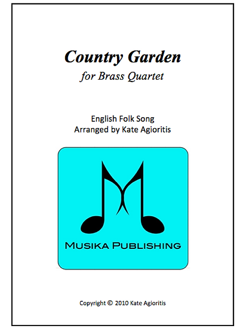Country Garden - Brass Quartet