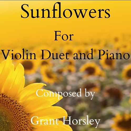 Sunflowers - Violin duet with Piano