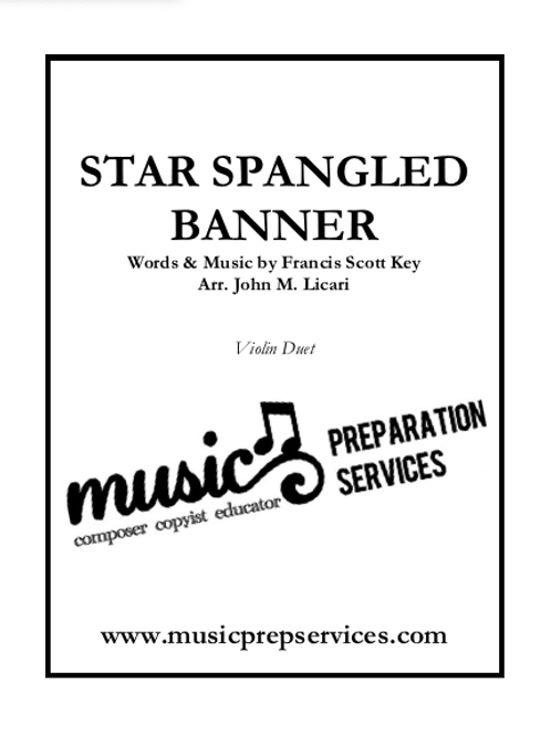 The Star-Spangled Banner - Violin Duet