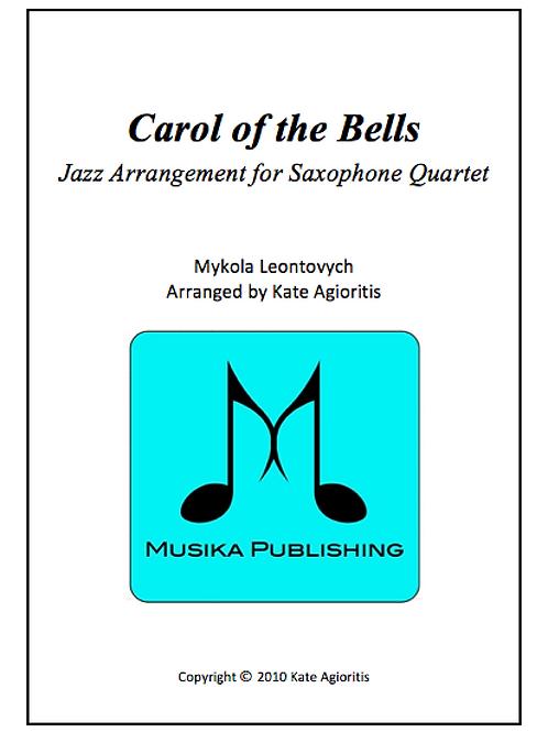 Carol of the Bells (Jazz) - Saxophone Quartet