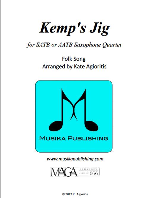 Kemp's Jig (Saxophone Quartet)