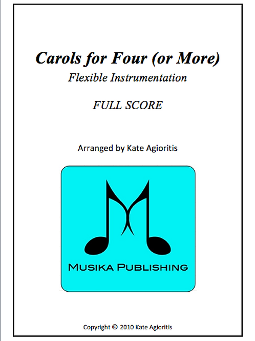 Carols for Four (or More) Untuned Percussion (Drum Set)