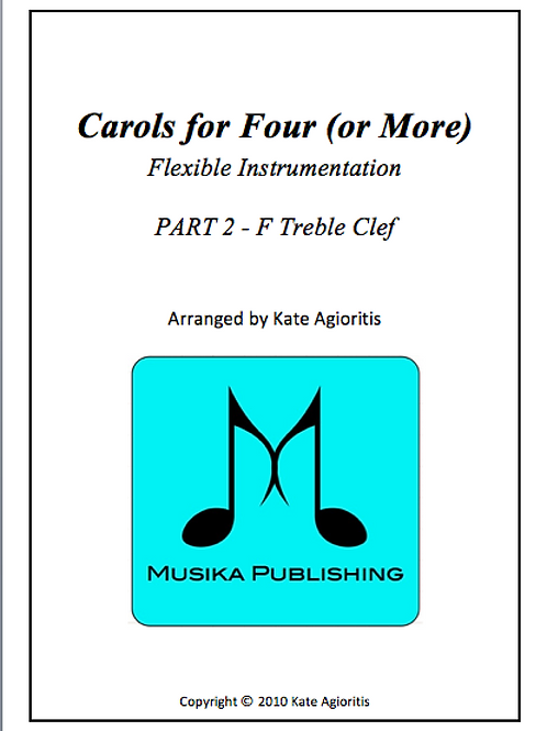Carols for Four (or More) Part 2 F Treble Clef