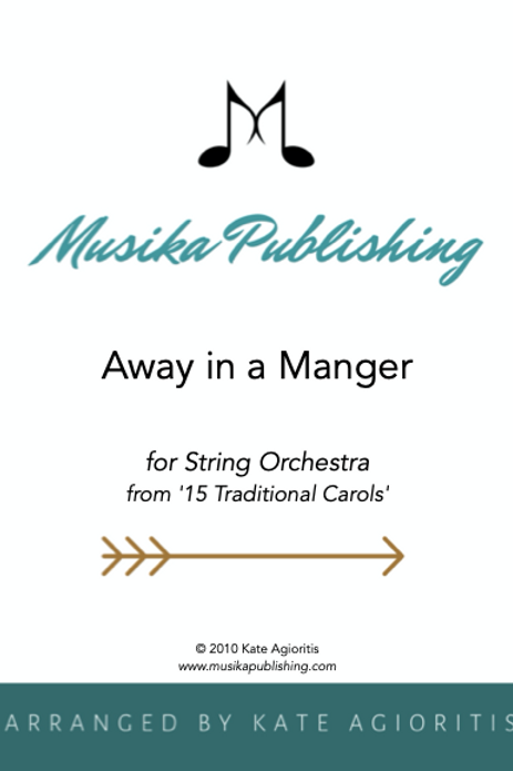 Away in a Manger - String Orchestra