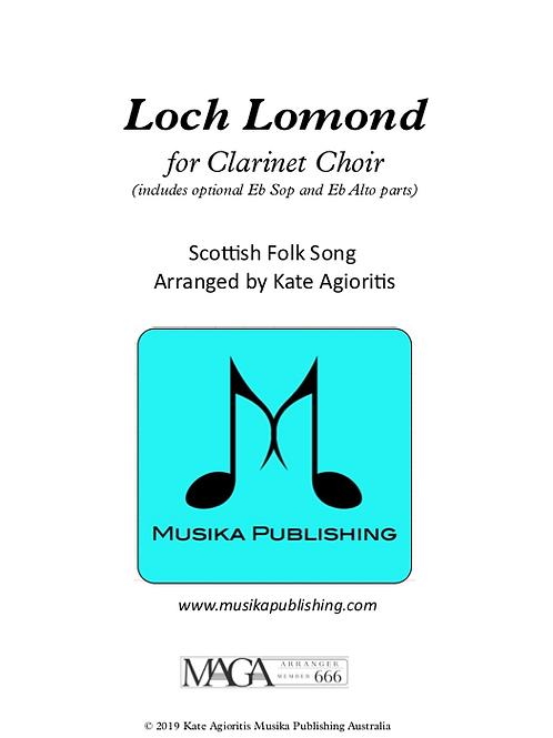 Loch Lomond - Clarinet Choir