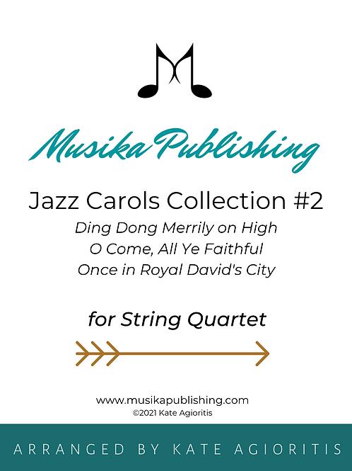 Jazz Carols Collection Set 2 - String Quartet