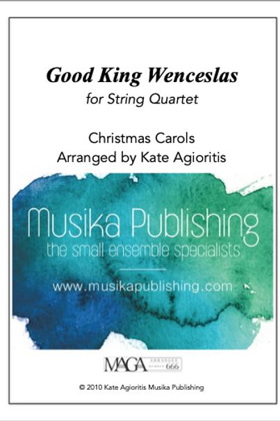 Good King Wenceslas (6/8) - String Quartet