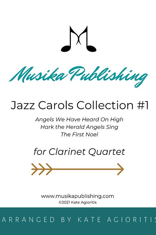 Jazz Carols Collection Set 1 - Clarinet Quartet