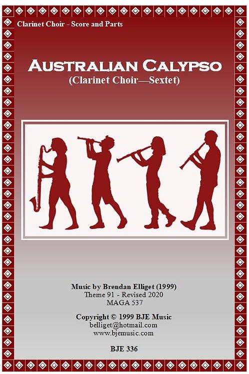 Australian Calypso - Clarinet Choir