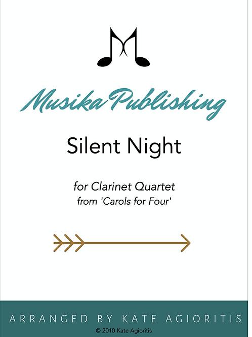 Silent Night - Clarinet Quartet