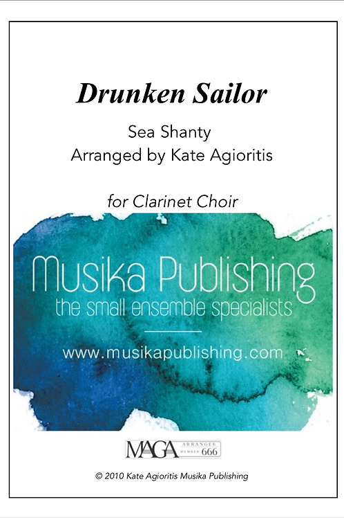 Drunken Sailor - Clarinet Choir