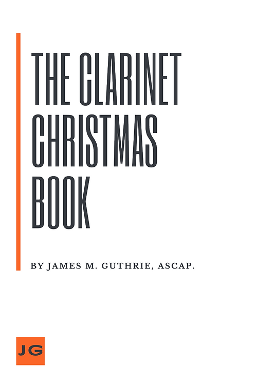The Clarinet Christmas Book
