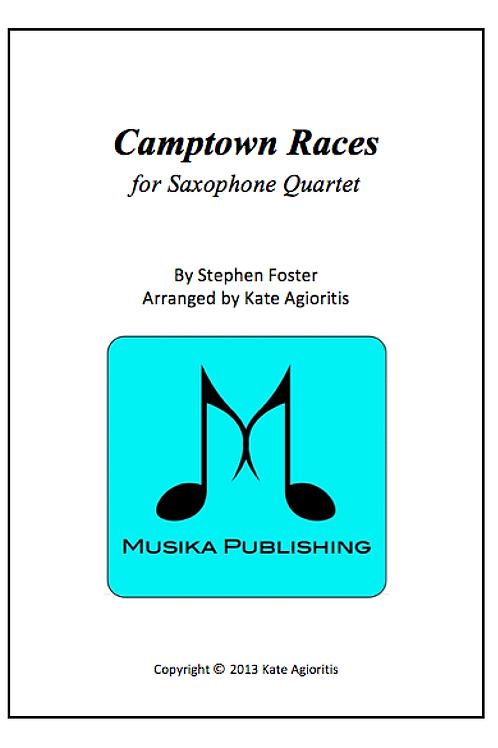 Camptown Races - Saxophone Quartet
