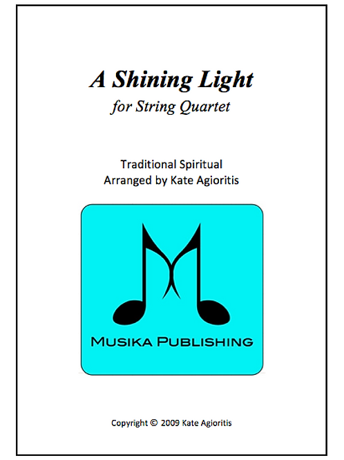 A Shining Light - String Quartet