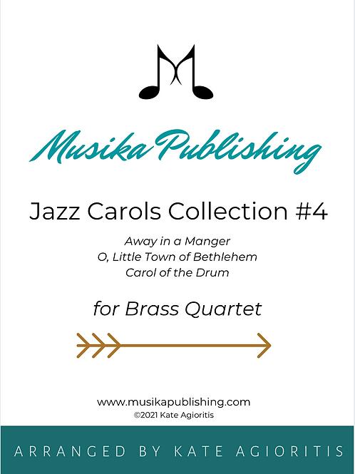 Jazz Carols Collection Set 4 - Brass Quartet