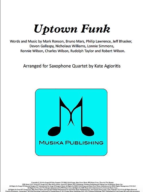 Uptown Funk - Saxophone Quartet