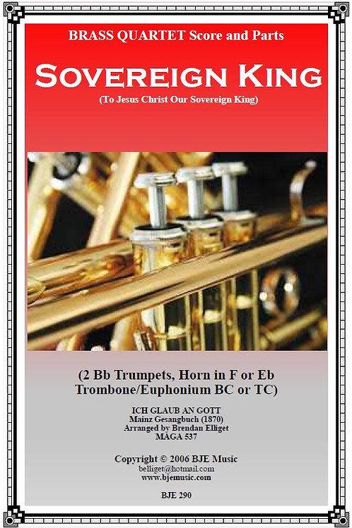 Sovereign King - Brass Quartet