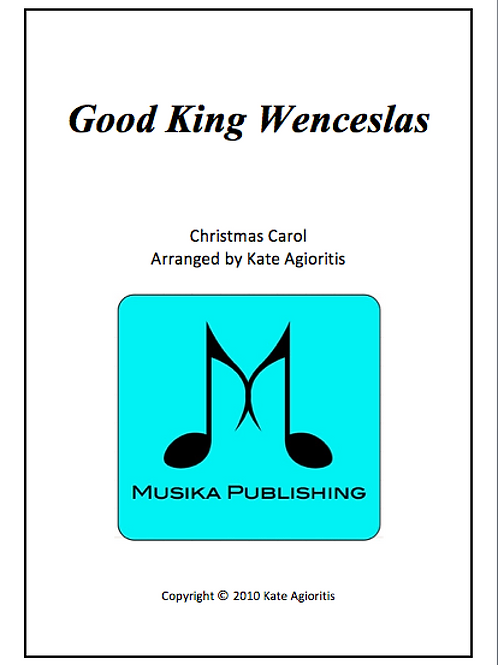 Good King Wenceslas (6/8) - Clarinet Quartet