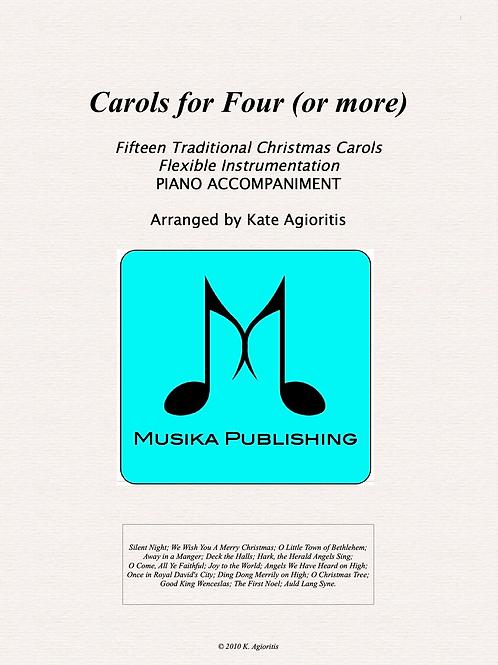 Carols for Four (or More) - Piano Accompaniment