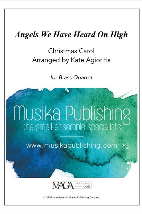 Angels We Have Heard on High - Brass Quartet