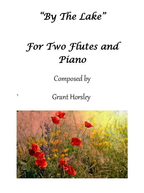 By the Lake - Flute Duet with Piano Accompaniment