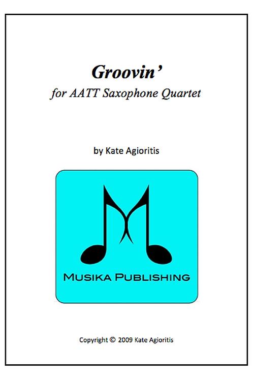 Groovin' - Saxophone Quartet (AATT)