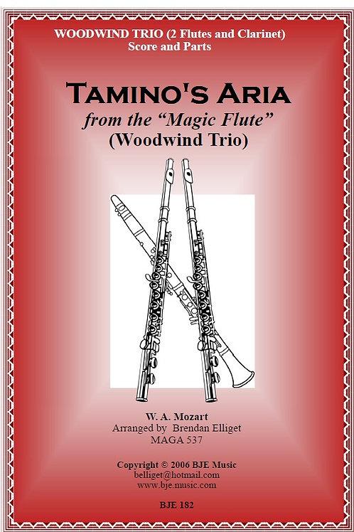 Tamino's Aria - Woodwind Trio