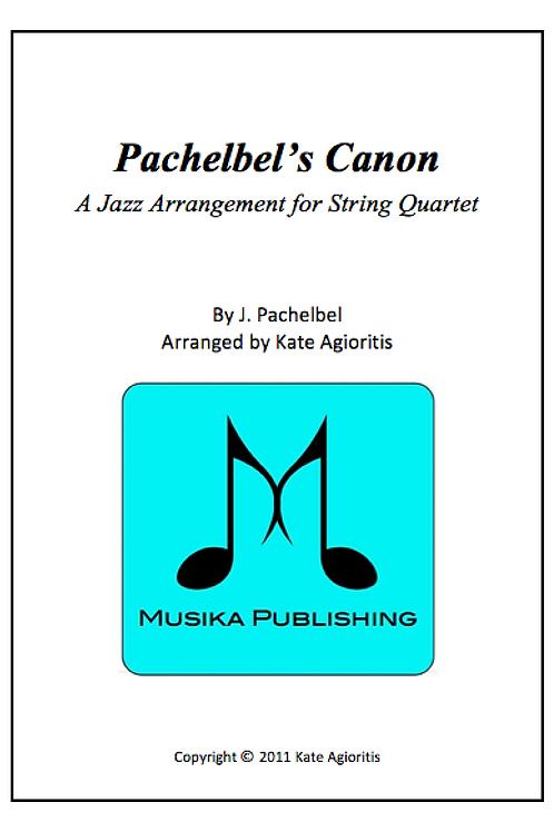 Pachelbel's Canon (Jazz) - String Quartet