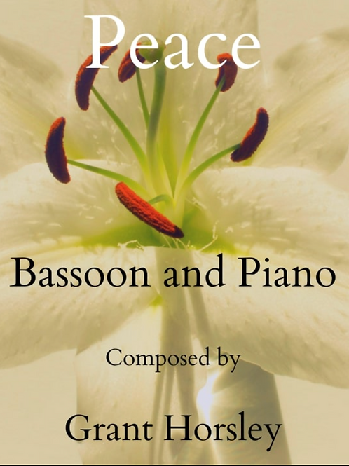 Peace - Bassoon and Piano
