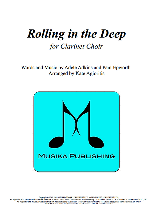 Rolling in the Deep - Clarinet Choir